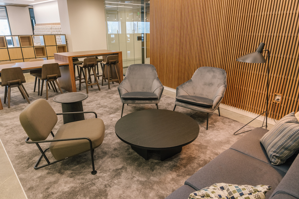 The Collective Fish and Richardson Law Firm Lounge